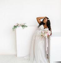 Blush + Black City Bridal Session _Rae M