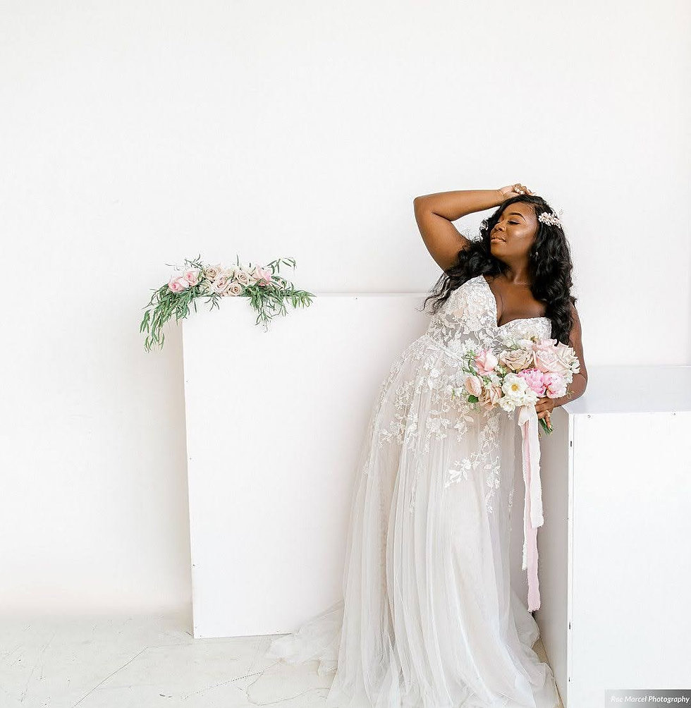 Blush + Black City Bridal Session _Rae M