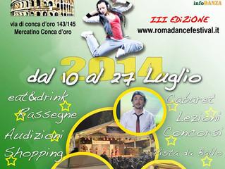 Roma Dance Festival Summer 2014