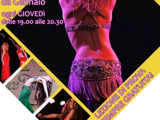 Nuovo corso di Danza del Ventre a Trastevere