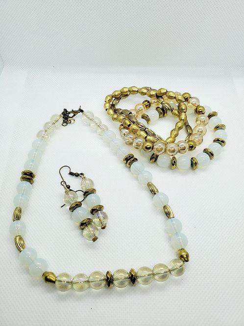 African Gold Bridal Set