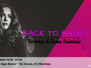 Back To Basics: Workshop di Danza Orientale