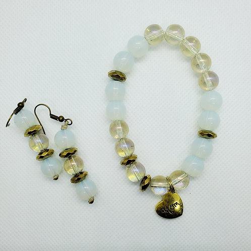MOB Earring and Bracelet Set