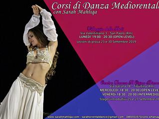 Nuovi Corsi di Danza del Ventre a Roma