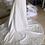 Thumbnail: Sexy Mermaid Sleeveless Lace Appliqued Illusion Back & Long Train Bride Dress