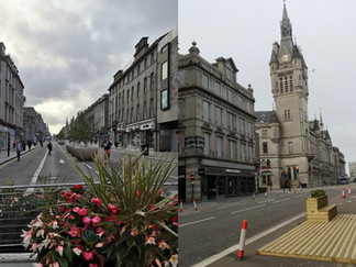 Postcard from Aberdeen: the 'granite city' in lockdown