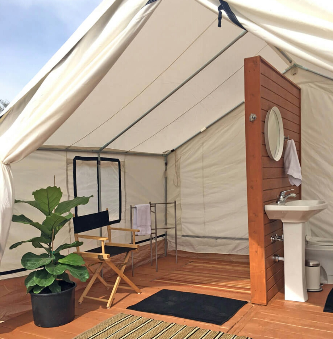 Bathroom Tent