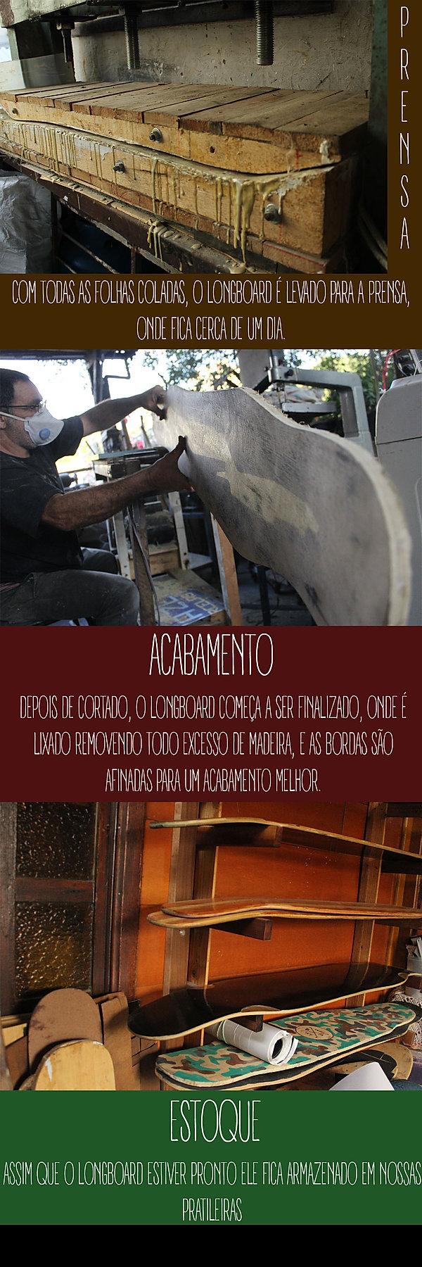 Fabricação de Longboard