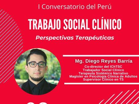 IChTSC y Círculo de Trabajo Social Clínico del Perú realizan I Conversatorio sobre la especialidad