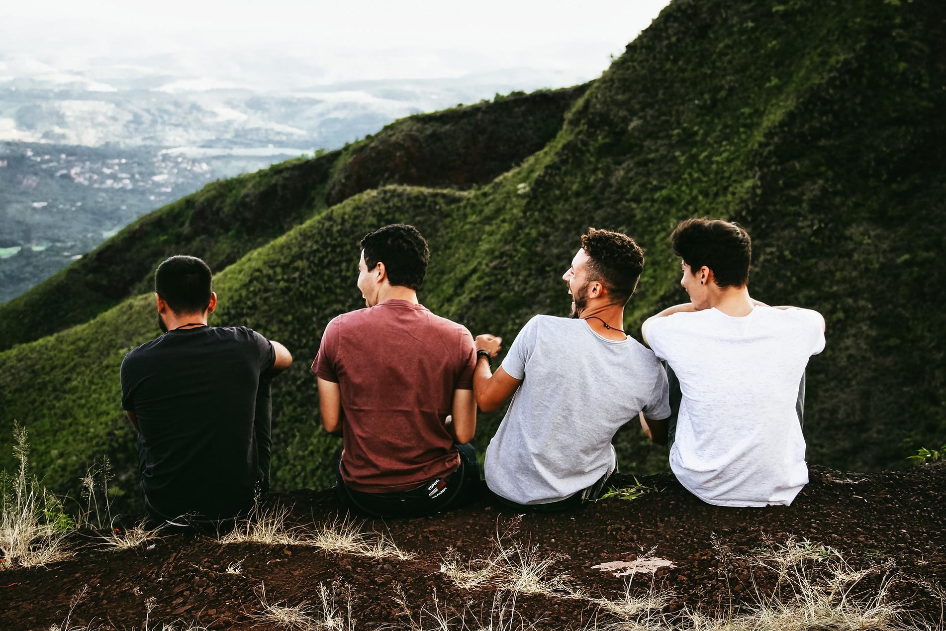 Przyjaciele na górze