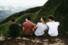 Friends on a Mountain