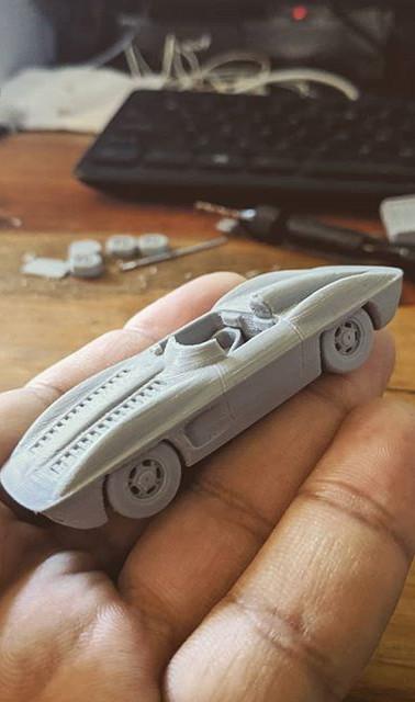 #3dprinted #scalemodel #corvette #stingr