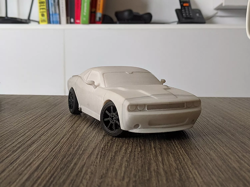 DODGE CHALLENGER BODIE FOR OPENZ 128 RC CHASSIS V3B
