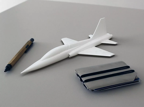 T-38 TALON AIRCRAFT SCALE MODEL, EASY TO PRINT