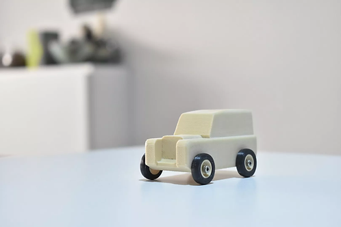 EXPLORER WOOD TOY CAR. EASY TO PRINT