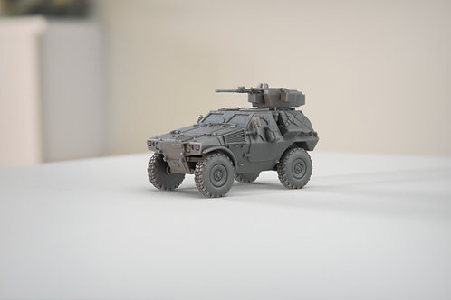 Panhard VBL (Véhicule Blindé Léger) Milan and .50 MG