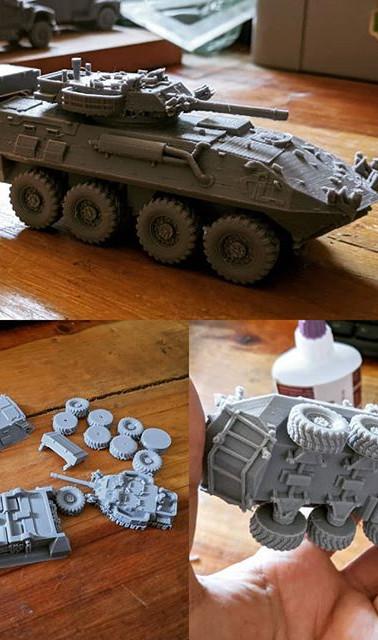 LAV III military vehicle #3dmodel #3dpri