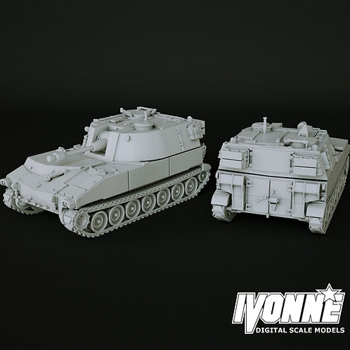 M108 SELF-PROPELLED HOWITZER 164 SCALE MODEL
