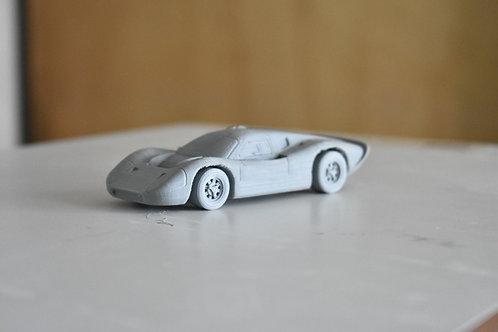 FORD GT40 MARK IV LE MANS RACING CAR