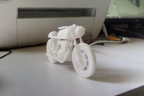 MOTO CAFE RACER SCALEMODEL