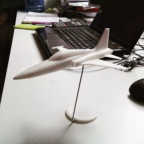 F5 TIGER AIRCRAFT MODEL,  EASY TO PRINT