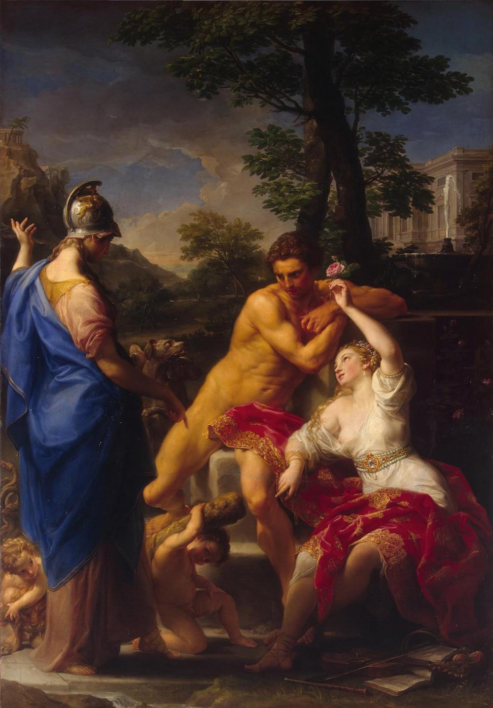 Hercules at the Crossroads - Pompeo Batoni