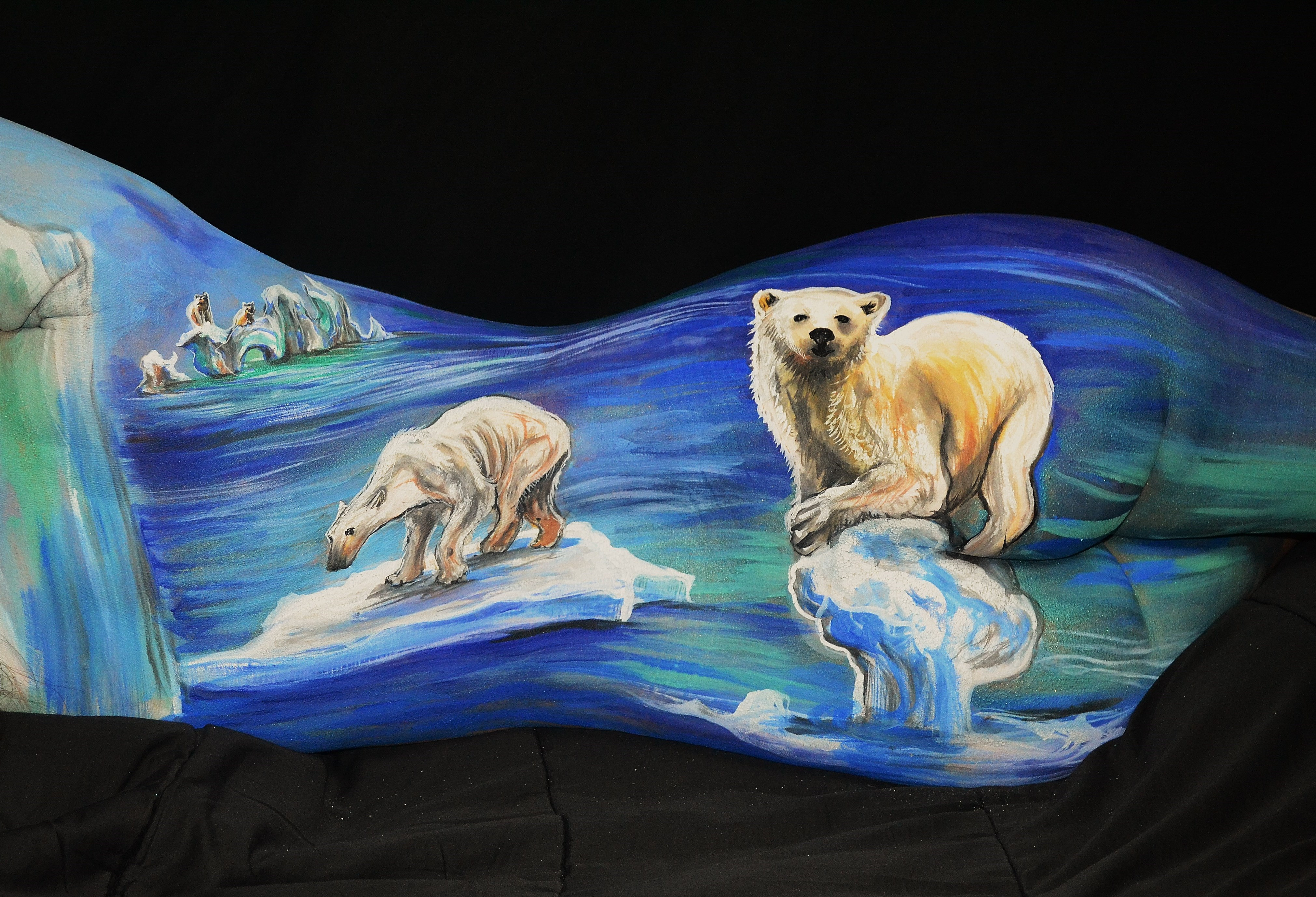 Polar Bear Plight - #CherylAnnArt