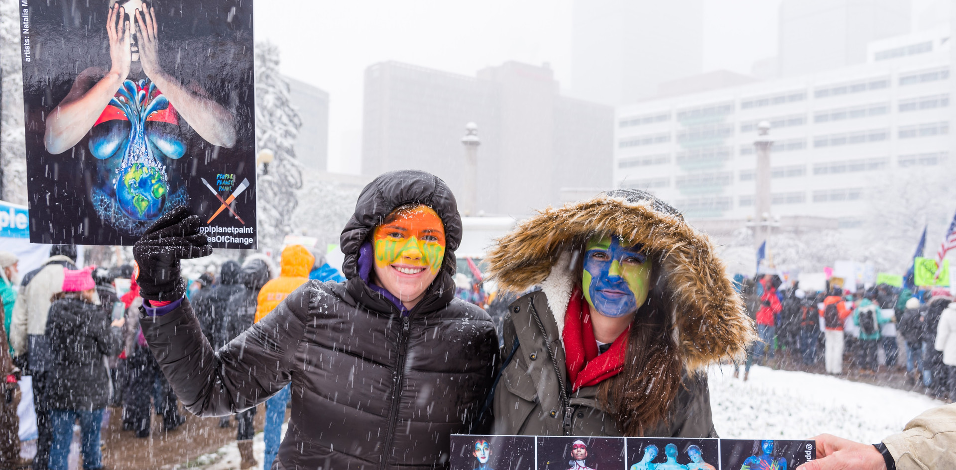 Painted People's Climate March