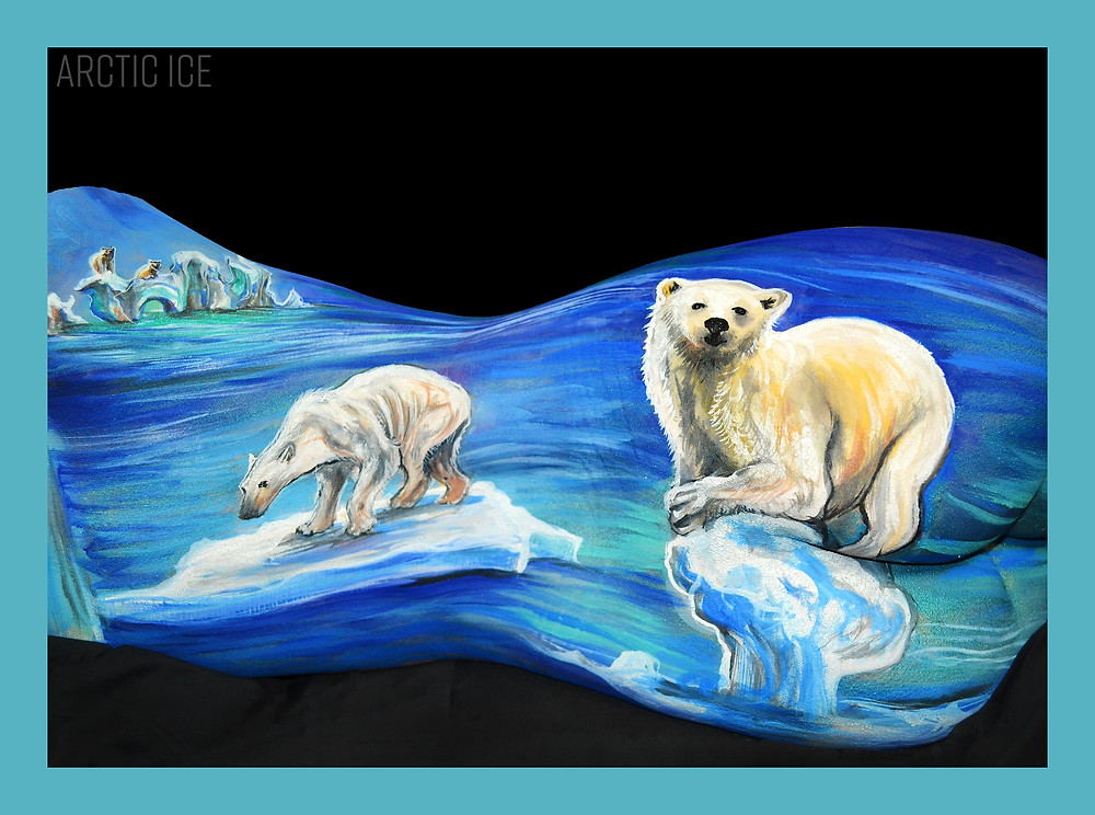 Polar Bear Plight, Cheryl Ann Lipstreu, Climate Change