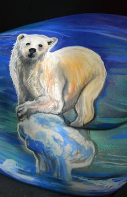 Stranded Bear Cheryl Ann Lipstreu