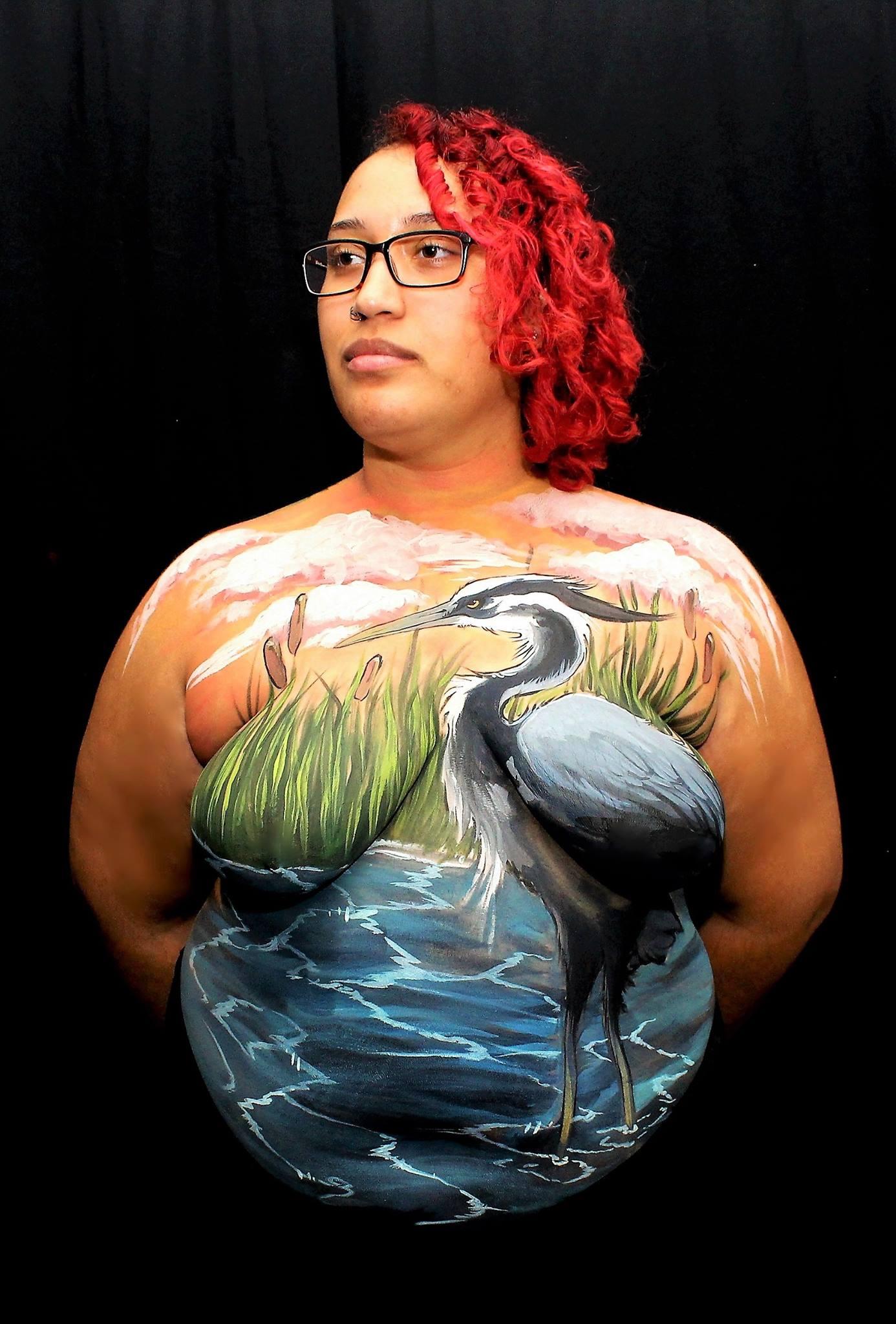 Wetlands + Egret