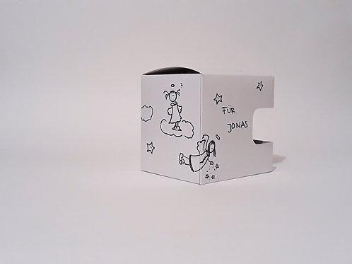Geschenkbox für Tasse - individualisiert