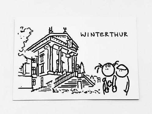 Winterthur, Tourismus, Reise, Holiday