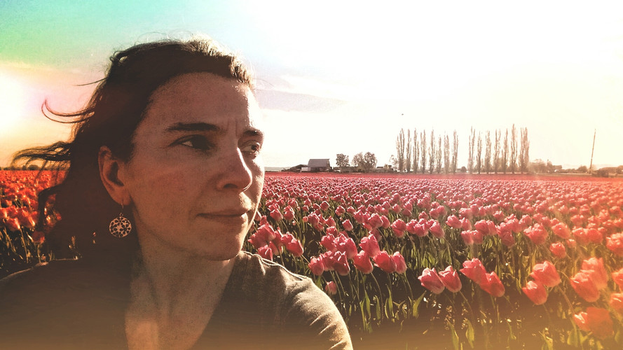 Drama in the tulip fields.