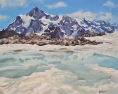 Mt. Shuksan with ice