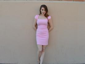 That PINK Dress