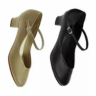 Tan/Black Character Shoes