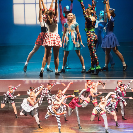 Diane Bradbury pupils dance up a storm in The Greatest Show - Derbyshire Times Review (2018)