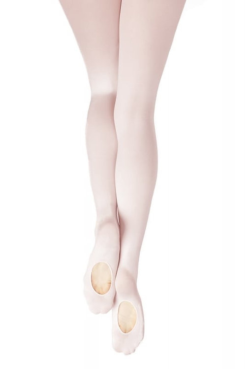 Adult Size Transition Ballet Tights Pink