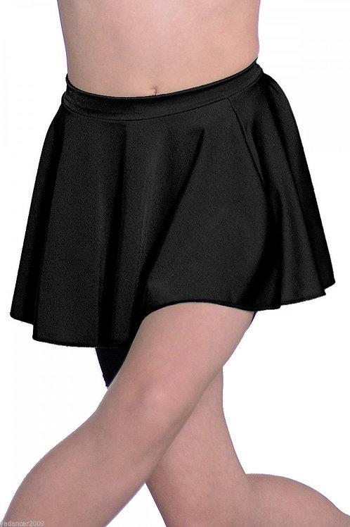 Child Black Lycra Skirt