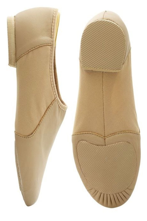 Child Size Neo-Flex Jazz Shoe Tan
