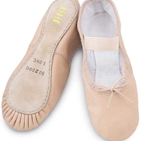 Adult Size Pink Ballet Shoes