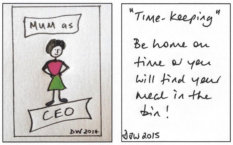 Timekeeping.