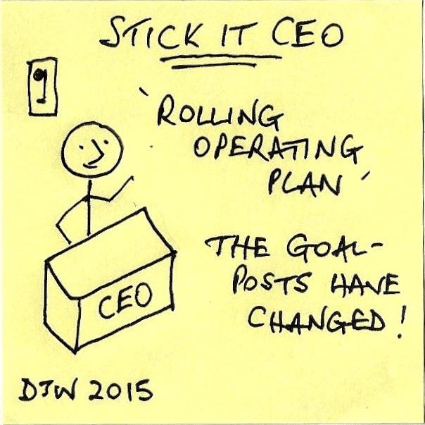 Rolling Operating Plan