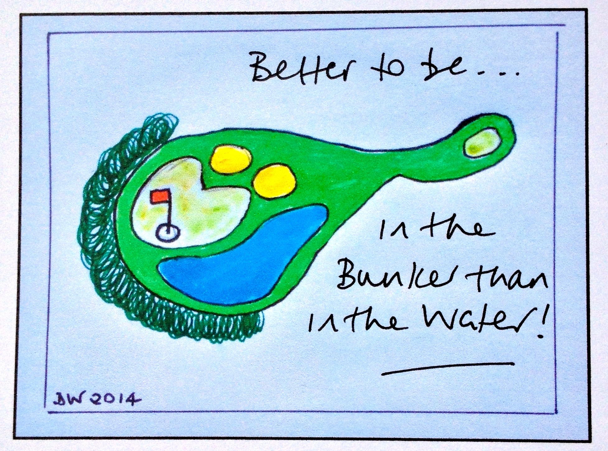 Better to be......