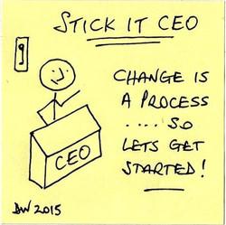 Change is a Process