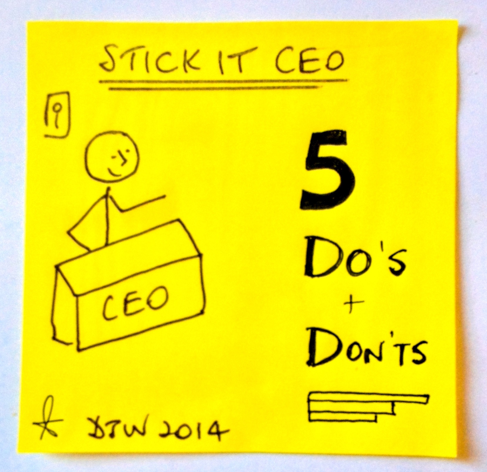 5 Do's and Don'ts