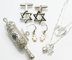 Sterling Silver Judaica Jewelry