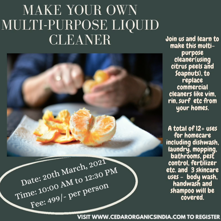 Make your own chemical-free cleaner
