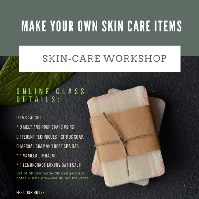 Skin-Care Tutorial ( Soaps, lip balms and more)
